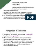 kuliah 2. Dasar Manajemen kesehatan.pptx