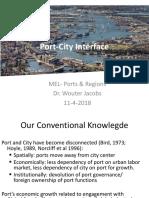 MEL 1 2018 Port City Interface