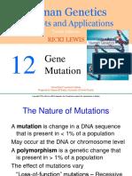 Ch12 Gene Mutation