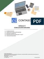 Módulo 9.- Conciliación Bancaria