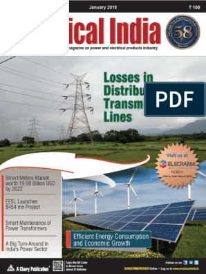 1 Electrical India - January 2018 | Photovoltaics | Solar Power