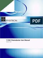 UserManual HystrionTriboIndenter Sm