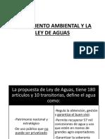 4. Saneamiento Ambiental y La Ley de Aguas