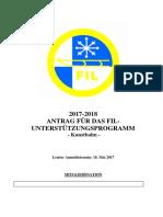 Antragsformular Kunstbahn 2017 2018