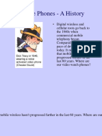 Mobile Phones - A History.ppt