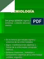 Semiología Hist. Clínica