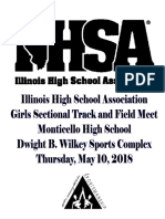 2A Monticello Girls State Sectional Program