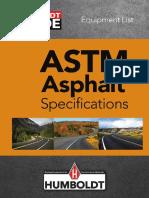 Humboldt Asphalt ASTM Specs