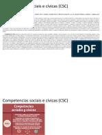 Competencias Sociais e Cívicas