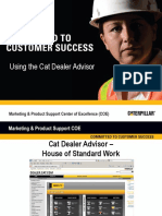 Cat Dealer Advisor User Training