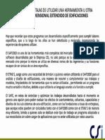 Ventajas Desventajas-uso Safe Etabs Sap2000
