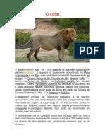 O Leão.docx
