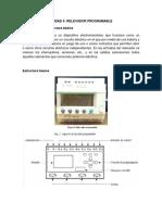Unidad 4 Relevador Programable