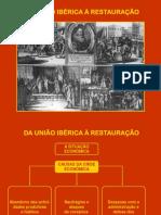 União Ibérica e Restauração