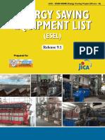 Energy Saving Equipment List_9.1