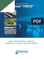 Catalogue Temporary Bridges Acrow 700xs