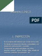 MÉTODOS-EXAMEN CLÍNICO