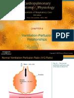 Ventilation Perfusion Ratios