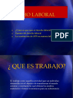 Derecho Laboral Diapositivas