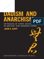 Daoism and Anarchism Critiques of State Autonomy in Ancient and Modern China