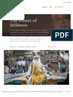Power of Stillness.