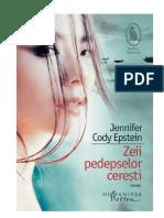 Zeii Pedepselor Ceresti - Jennifer Cody Epstein