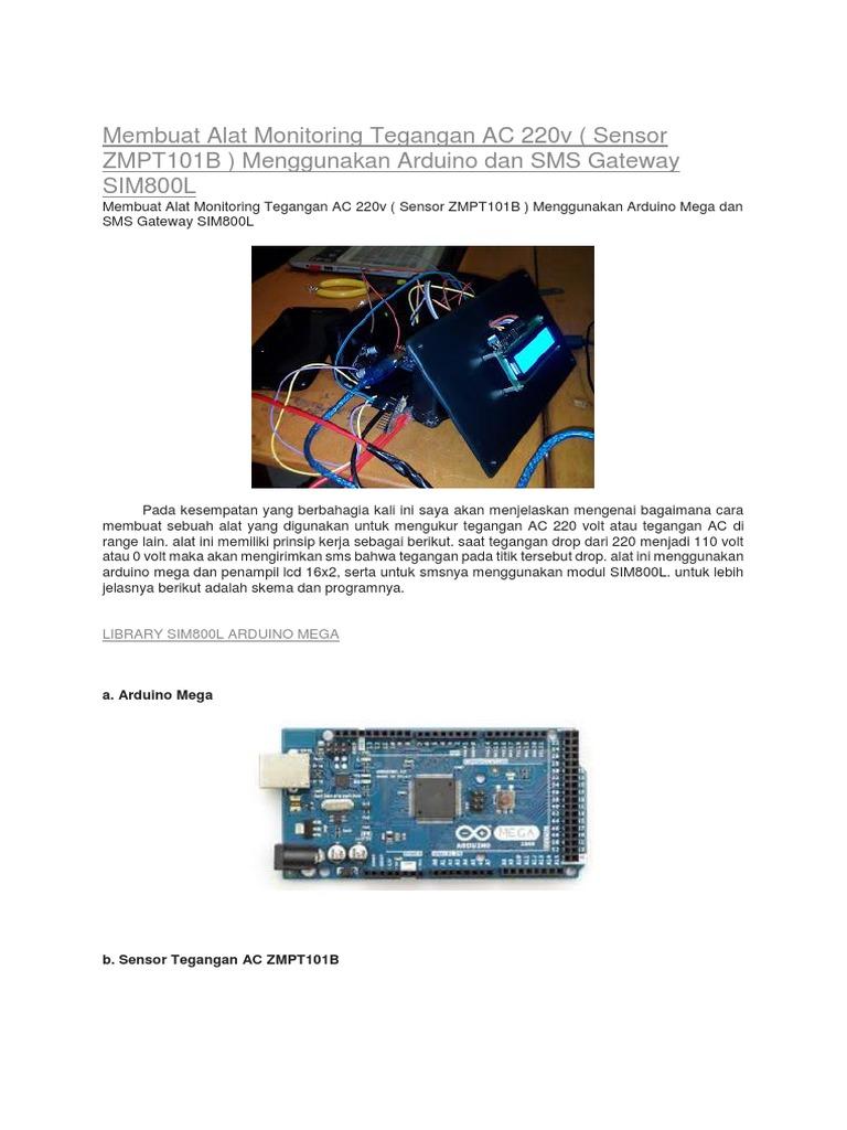 Sim800l Arduino Library