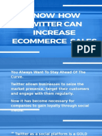 Know How Twitter Can Increase ECommerce Sales