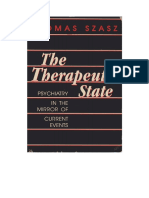 Thomas Stephen Szasz-The Therapeutic State_ Psychiatry in the Mirror of Current Events-Prometheus Books (1984)