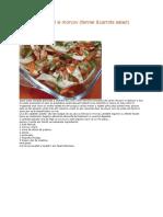 Salata de Fenicul Si Morcov