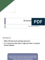 Business Eassaathics