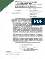 Surat Edaran Tentang Percepatan Penerbitan KTP Elektronik