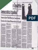 Se Une Toda La Oposicion Democratica