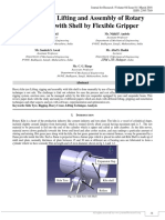 A REVIEW ON LIFTING AND ASSEMBLY OF ROTARY KILN TYRE WITH SHELL BY FLEXIBLE GRIPPER | J4RV4I1013