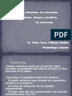 DEFECTOS REFRACTIVOS pregrado Dr. Callisaya