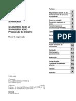SINUMERIK 840D Sl 828D Programaçao_Preparaçao Do Trabalho
