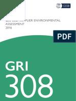 Gri 308 Supplier Environmental Assessment 2016