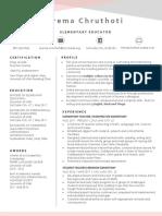 pchruthoti resume