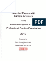 PPE Exam PaperS 2010