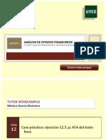 Modelo de Presentación Análisis de Estados Financieros 2018