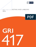 Gri 417 Marketing and Labeling 2016