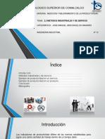 2.2 Metodos Industriales y de Servicio