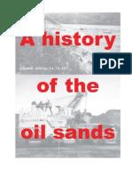 History Oil Sands