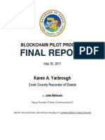 Final Report CCRD Blockchain Pilot Program for Web