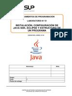 Lab 01 - Instalación y Estructura de Un Programa