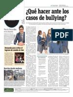 Qué Hacer Ante Los Casos de Bullying