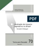 Artigo - Análise de Impacto Legislativo - Fernando Meneguin