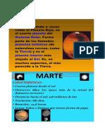 Informacion Del Planeta Marte