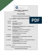 Programm Aposymposium 2018