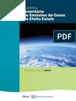 Cartilha Inventário de Emissões de Gases de Efeito Estufa